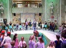 Зажигательные ирландские танцы в Российской государственной детской библиотеке